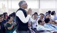चंपारण में PM मोदी के भाषण के दौरान अचानक खड़ा हुआ ये व्यक्ति आखिर है कौन ?