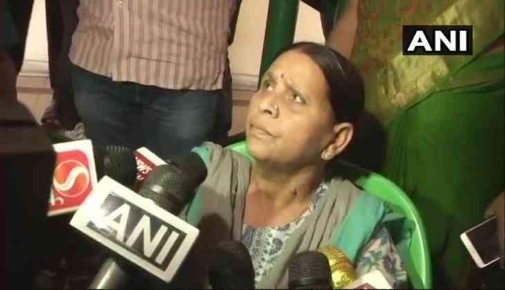 Women not safe in Bihar, criminals have crossed all limits: Rabri Devi