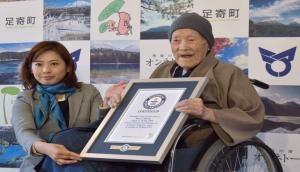 ये है दुनिया का सबसे बूढ़ा व्यक्ति, उम्र जानकार हो जाएंगे हैरान