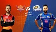 IPL 2018ः जीत की पटरी पर लौटना चाहेगी मुंबई इंडियंस, हैदराबाद से है जंग