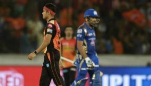 IPL 2018: मुंबई इंडियंस ने हैदराबाद को दिया 148 रन का टारगेट