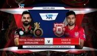 IPL 2018: RCB को जीत के लिए 28  गेंद पर  45 रन की जरूरत, डिविलियर्स क्रीज पर मौजूद
