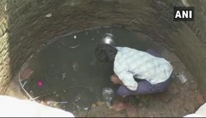 शिवराज सरकार में गंदा पानी पीकर प्यास बुझा रहा है ये गांव