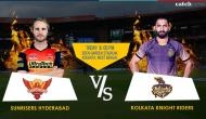 IPL 2018, SRH vs KKR: Kane Williamson wins the toss and elects to field; here are the final playing eleven