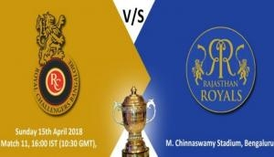 RCB vs RR, Match Preview - Prediction, IPL 2018: Virat Kohli's strong contenders to take charge against Rahane's royals