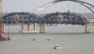 VIDEO: पलक झपकते ही ऐसे हवा में उड़ गया पुल, देखने वाले रह गए दंग