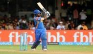 IPL 2018: संजू सैमसन ने खेली विस्फोटक पारी, RCB के सामने 218 रनों का लक्ष्य