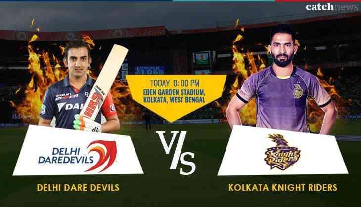 KKR vs DD, Match 13, IPL 2018