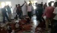 Karnataka polls: Angry over ticket distribution, Congress workers vandalise party office