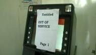 'ATM में कैश नहीं होना नोटबंदी घोटाले का है असर'