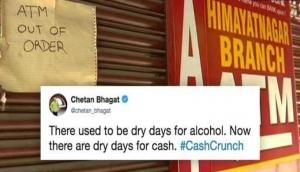 Cash Crunch: ATMs goes cashless across India; Twitterati trolls Arun Jaitley says 'ATMs are Cashless, Jaitley is Clueless'