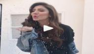माहिरा खान ने राज कपूर और नर्गिस के गाने पर किया डांस, वीडियो वायरल
