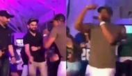 Video: ब्रावो के 'चैंपियन-चैंपियन' पर विराट, राहुल और भज्जी ने जमकर किया डांस