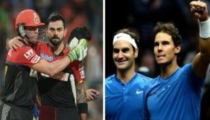 IPL 2018: इस दिग्गज ने कोहली और डिविलियर्स की फेडरर-नडाल से की तुलना