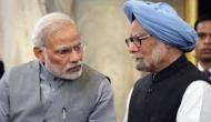 PM Modi hits out at Manmohan Singh over 'Bharat Mata Ki Jai' slogan