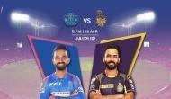 IPL 2018: कोलकाता नाइट राइडर्स को हराकर राजस्थान रॉयल्स लगा पाएगा जीत की हैट्रिक!