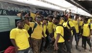 IPL 2018: As CSK's matches got transferred to Pune, team takes its fans in a special train to pune in 'Whistlepodu express'