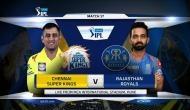 IPL 2018, RR vs CSK:  राजस्थान का टॉस जीतकर गेंदबाजी का फैसला, CSK करेगी पहले बल्लेबाजी