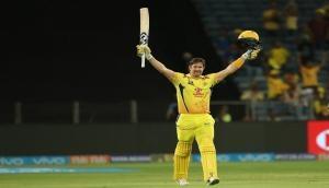 IPL 2018: शेन वाटसन ने लगाया तीसरा शतक, राजस्थान के सामने 205 रनों का लक्ष्य