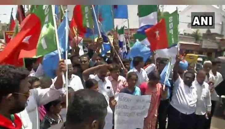 'Rail-Roko' protest in Chennai over SC/ST Act issue