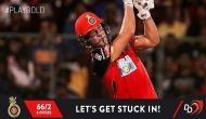 IPL 2018, DD vs RCB: बेंगलोर का स्कोर 100 के पार, डिविलियर्स क्रीज पर