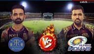 MI vs RR, IPL 2018: Rohit Sharma and Ajinkya Rahane will try hard to get the momentum