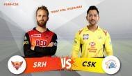 IPL 2018: जीत का चौका लगाने उतरेगी चेन्नई, हैदराबाद से है मुकाबला
