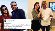 सहवाग ने शादी की सालगिरह पर किया ये मजेदार ट्वीट