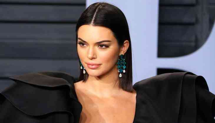 Kendall Jenner shared a sizzling picture in tiniest animal print bikini on Instagram