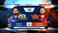 IPL 2018: मुंबई इंडियंस ने टॉस जीतकर चुनी गेंदबाजी, हैदराबाद में धवन की वापसी