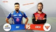 IPL 2018: मुंबई के पास जीत का मौका, हैदराबाद का ये दिग्गज खिलाड़ी है प्लेइंग इलेवन से बाहर