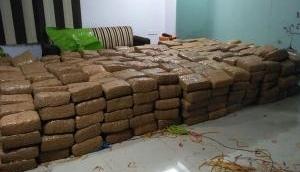 1394kg cannabis worth seized in Vijayawada