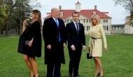 When Trump met Macron: From wild handshakes, awkward kisses to wiping dandruff