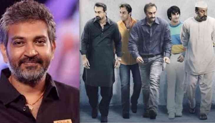 This is what SS Rajamouli tweeted about Ranbir Kapoor after watching Rajkumar Hirani's Sanju teaser