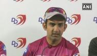 IPL 2018: गौतम ने कप्तानी छोड़ने को लेकर कही ये 'गंभीर' बात