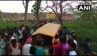दर्दनाक: यूपी के कुशीनगर में ट्रेन से टकराई स्कूल वैन, 11 मासूमों की मौत