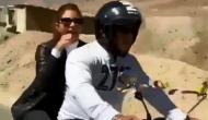 Video: बर्फीले लद्दाख में बाइक दौड़ाते नजर आए सलमान, बैकसीट पर थीं जैकलिन