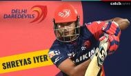IPL 2018: Shreyas Iyer played the iconic helicopter shot; is he the next Dhoni in making?
