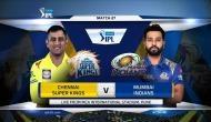 IPL 2018, MI vs CSK: मुंबई का टॉस जीतकर पहले गेंदबाजी का फैसला,ये खिलाड़ी हुआ बाहर