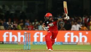 IPL 2018, RCB vs KKR: कोहली ने खेली विराट पारी, कोलकाता के सामने 176 रनों का लक्ष्य
