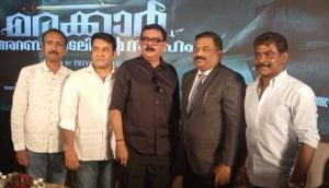 Marakkar - Arabi Kadalinte Simham: Mohanlal, Priyadarshan, Antony Perumbavoor's Rs. 100 crore film announced