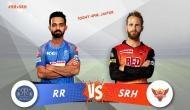 IPL 2018, SRH vs RR: गेंदबाजों ने हैदराबाद को मैच में कराई वापसी, राजस्थान का स्कोर 100 के पार