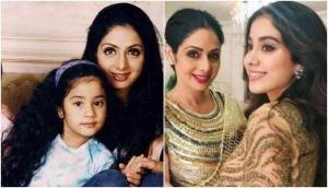 श्रीदेवी के बर्थडे पर बेटी जाह्नवी ने इस तरह किया मां को याद, शेयर किया अपने बचपन का फोटो
