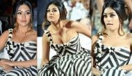 Here's how Anu Emmanuel grabs the limelight from Allu Arjun and Ram Charan at Naa Peru Surya Naa Illu India's pre-release event