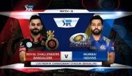 IPL 11: मुंबई इंडियंस ने टॉस जीता, आरसीबी को दिया बैटिंग का न्योता