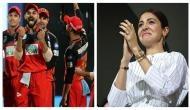 RCB vs MI: RCB beats MI; Virat Kohli's team gifts 'victory' to Anushka Sharma; Twitterati says, 'ab bolo Anushka lucky hai?'