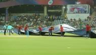 IPL 2018, RR vs DD: फैंस के लिए खुशखबरी, बारिश के बाद फिर शुरू हुआ खेल, ओवरों में हुई कटौती