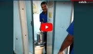 Viral Video: Railways vending contractor caught mixing toilet water in tea, coffee; authorities slam him with fine of 1 lakh rupees