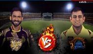 IPL 2018: धोनी की चेन्नई एक्सप्रेस को रोकने के लिए केकेआर है तैयार