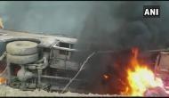 बिहार: मुजफ्फरपुर से दिल्ली जा रही बस गड्ढे में गिरी, 27 लोगों की जिंदा जलकर मौत